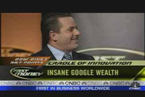 Insane Google Wealth