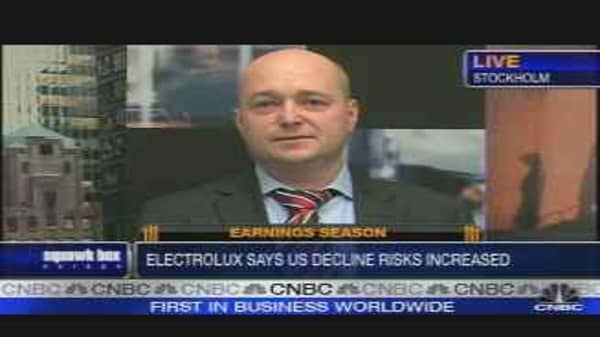 Electrolux Quarterly Profit Misses Expectations