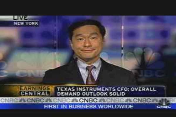 Texas Instuments Earnings