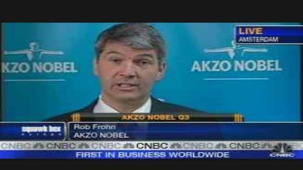 Akzo Nobel Profit Falls Short of Forecasts