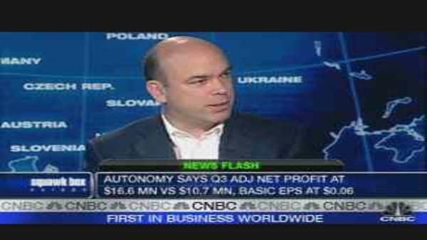Autonomy Reports Record Results