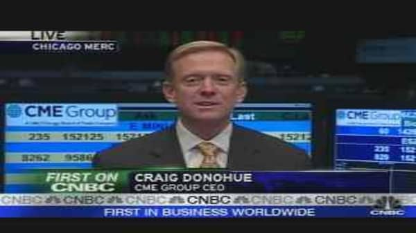 Volatility Good to CME