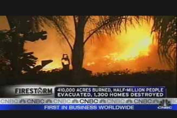 CA Fires & Economy
