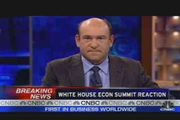 Economic Summit Reaction