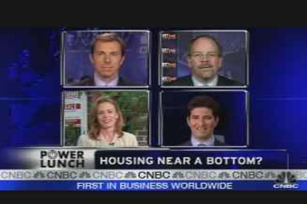 Housing Near Bottom?