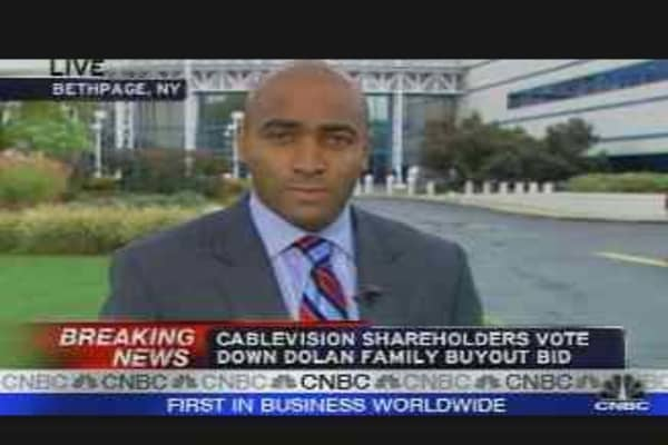 Cablevision Deal Undone