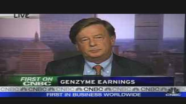 Genzyme CEO on Earnings