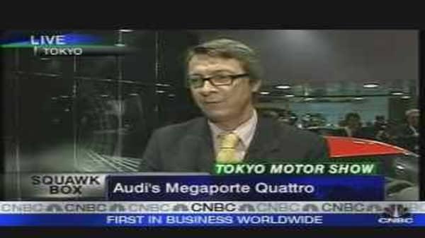 Audi's Megaporte Quattro