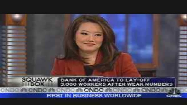 Bank of America Shakeup
