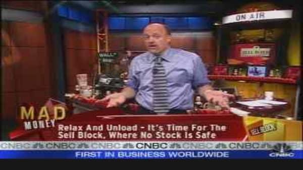 Cramer's Sell Block