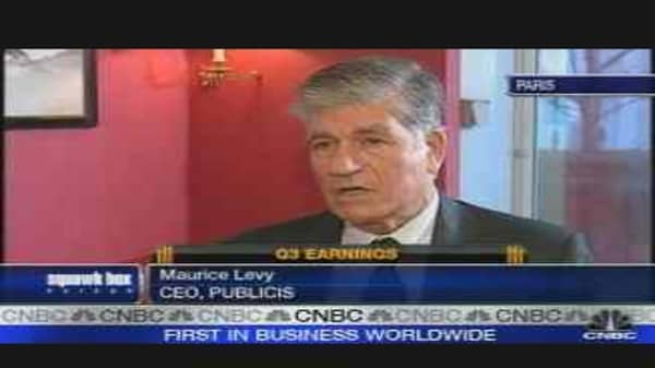 Publicis CEO on Earnings