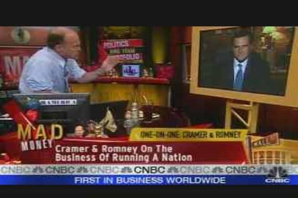 One-on-One: Cramer & Romney
