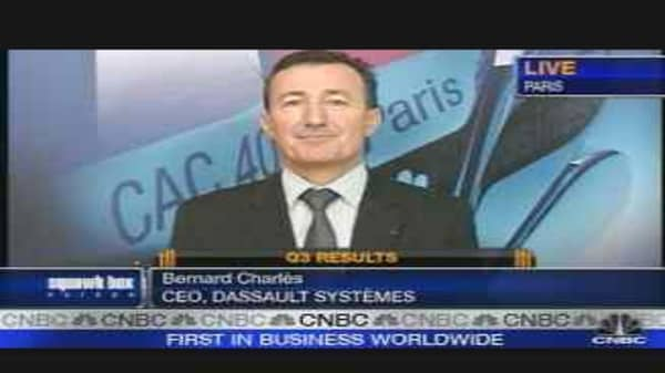 D'assault Systemes Lowers 2007 Forecast