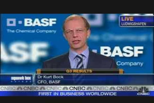 BASF Raises Guidance on 'Rock Solid' Earnings