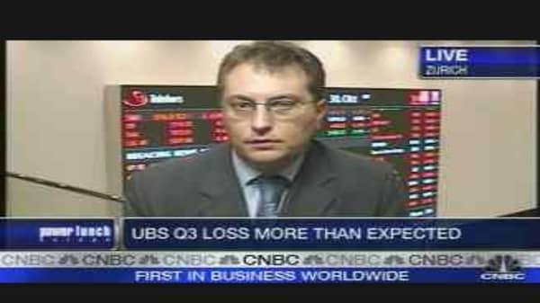 UBS Confirms Subprime Problems