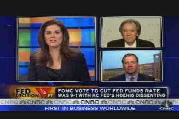 Bond Mkt. Reacts to Fed Cut