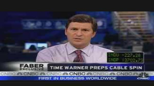 Time Warner Preps Cable Spin