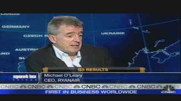 Ryanair Bullish on Winter Travel