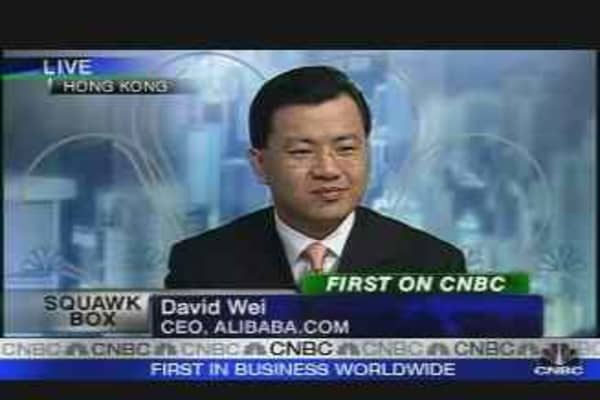 Alibaba.com Makes It Debut