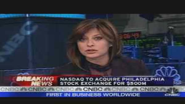 Nasdaq to Acquire Philly Exchange
