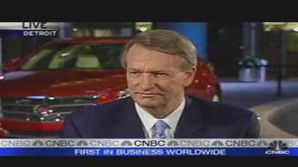GM CEO on Earnings