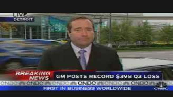GM's Record Loss