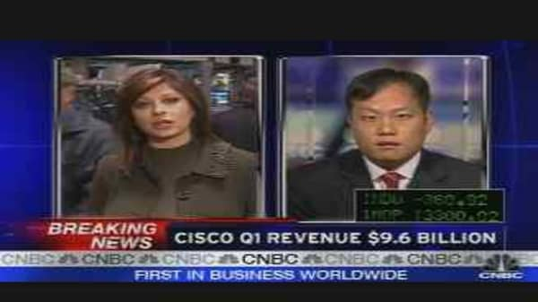 Cisco Earnings Reaction