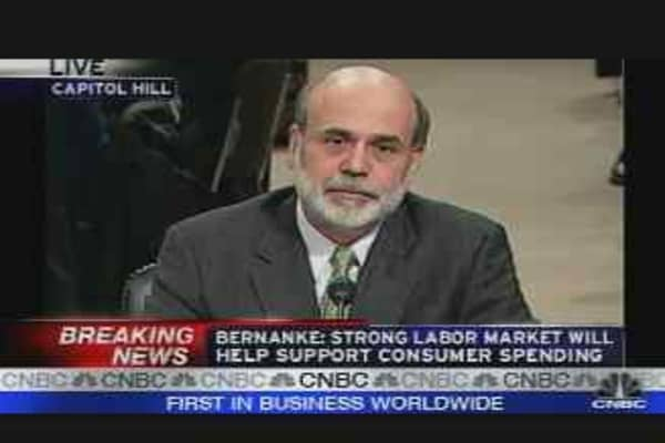 Bernanke on Spending
