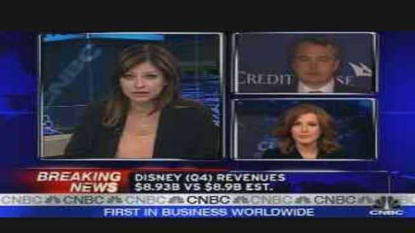 Disney Earnings & Reaction