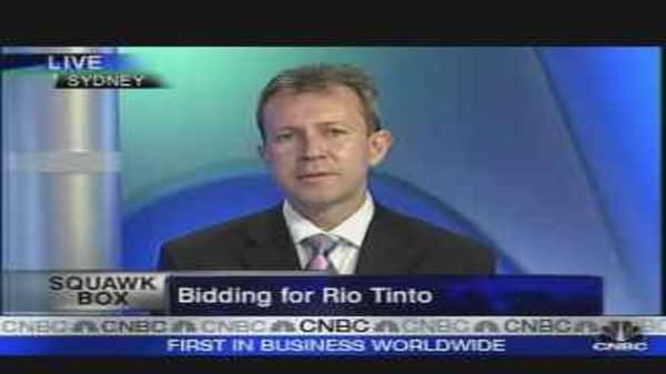 The Bid for Rio Tinto