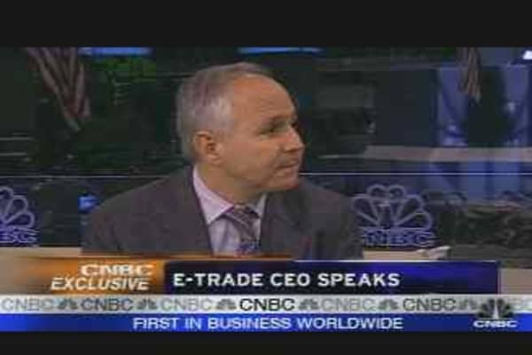 E*Trade CEO Speaks