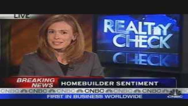Homebuilder Sentiment