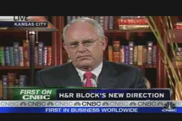 H&R Block's New Chief