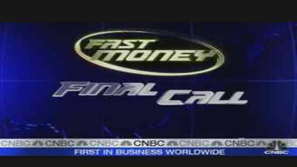 Fast Money Final Call