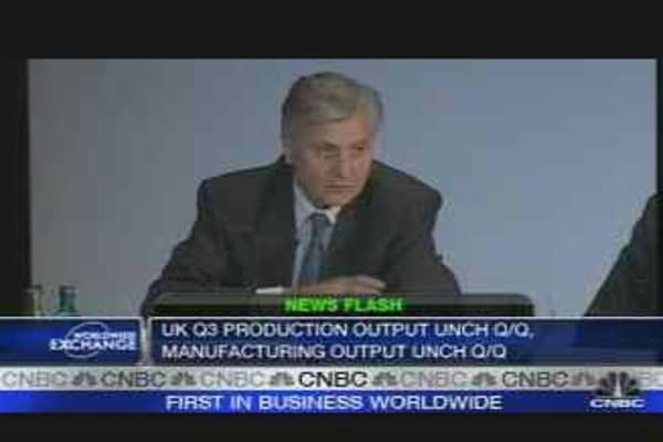 'We Told You So,' Says Trichet