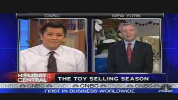 The Toy Selling Season