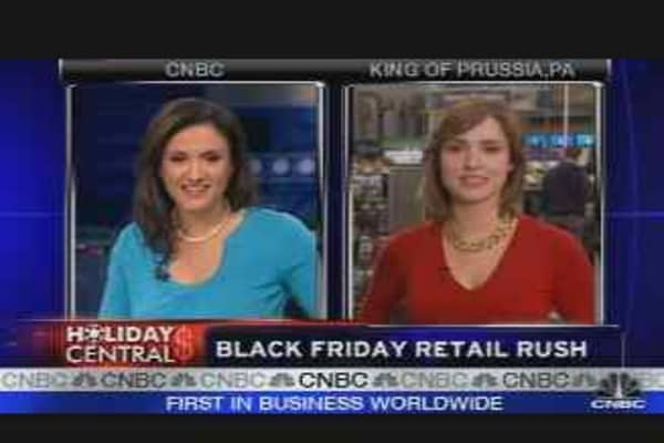 Black Friday Retail Rush