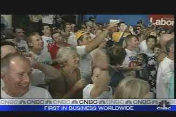 Rudd Wins Landslide Victory