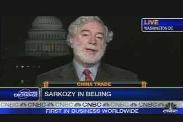 Sarkozy Calls for Yuan Rise