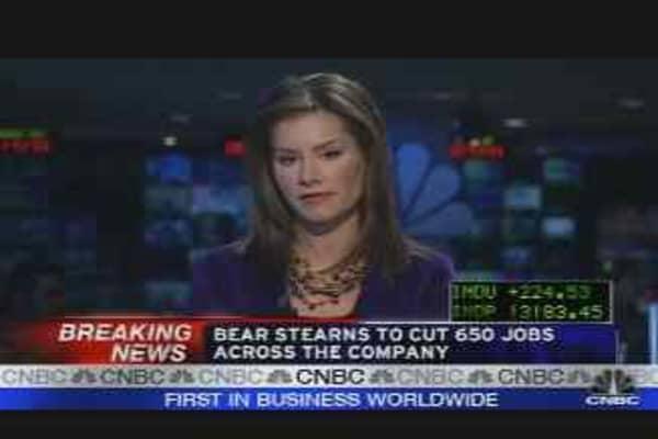 Bear Cuts Jobs