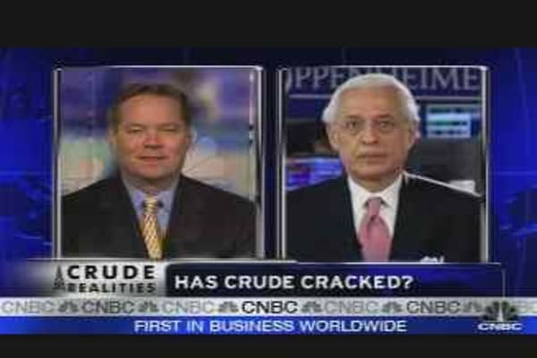 Has Crude Cracked?
