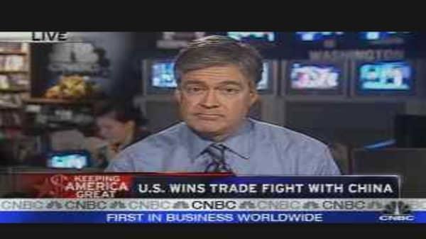 U.S. Wins Trade Fight