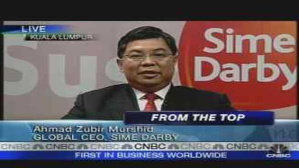 Malaysia's New Giant Sime Darby Jumps on Relisting
