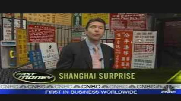 Next Week's Trades #3: Shanghai Surprise