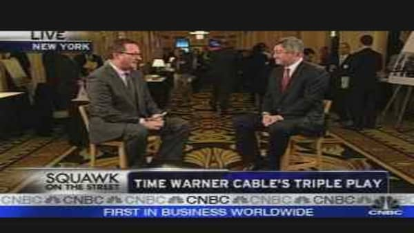 Time Warner Cable's Triple Play