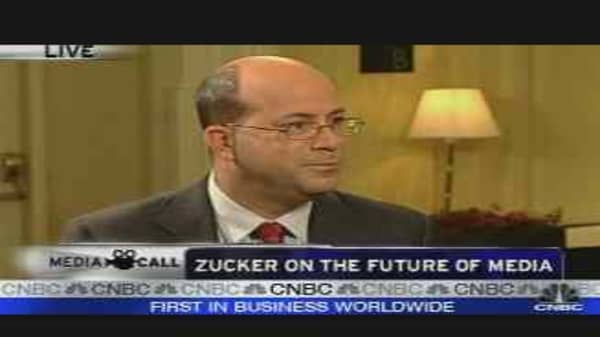 Zucker Discusses Media Future