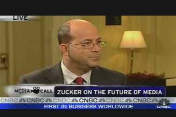 Zucker Discusses Media Future