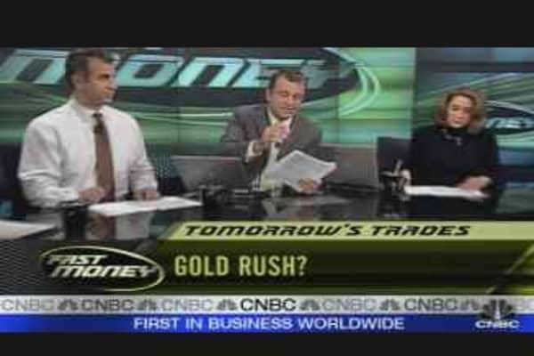 Tomorrow's Trades #2: Gold