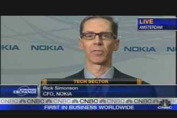 Nokia CFO on Profit Target