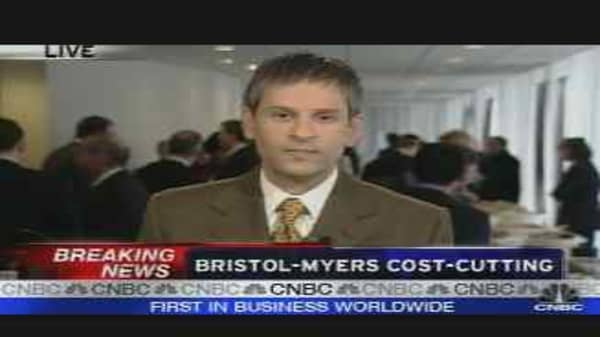 Bristol Myers Cost Cutting